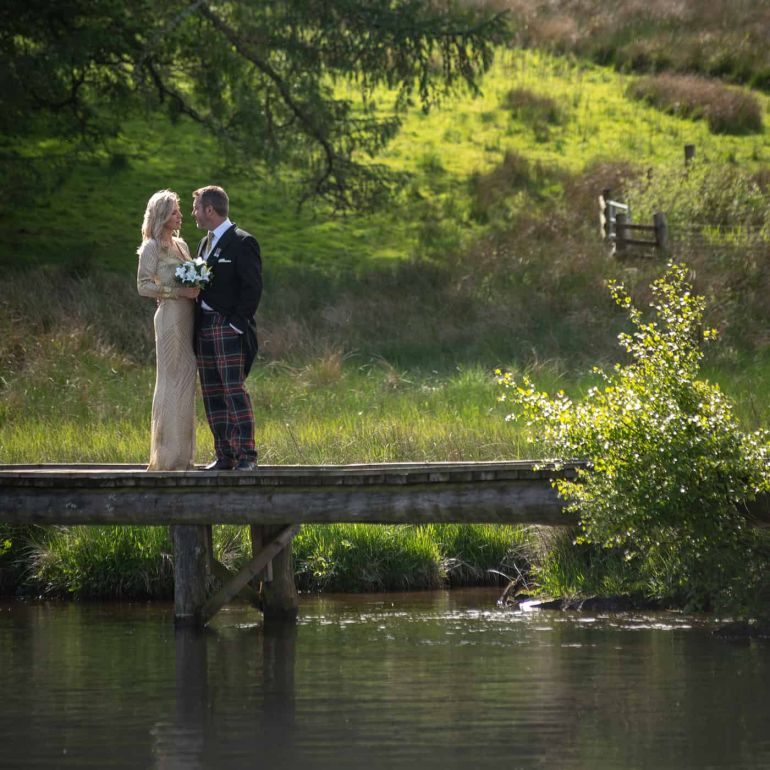 wedding on the loch